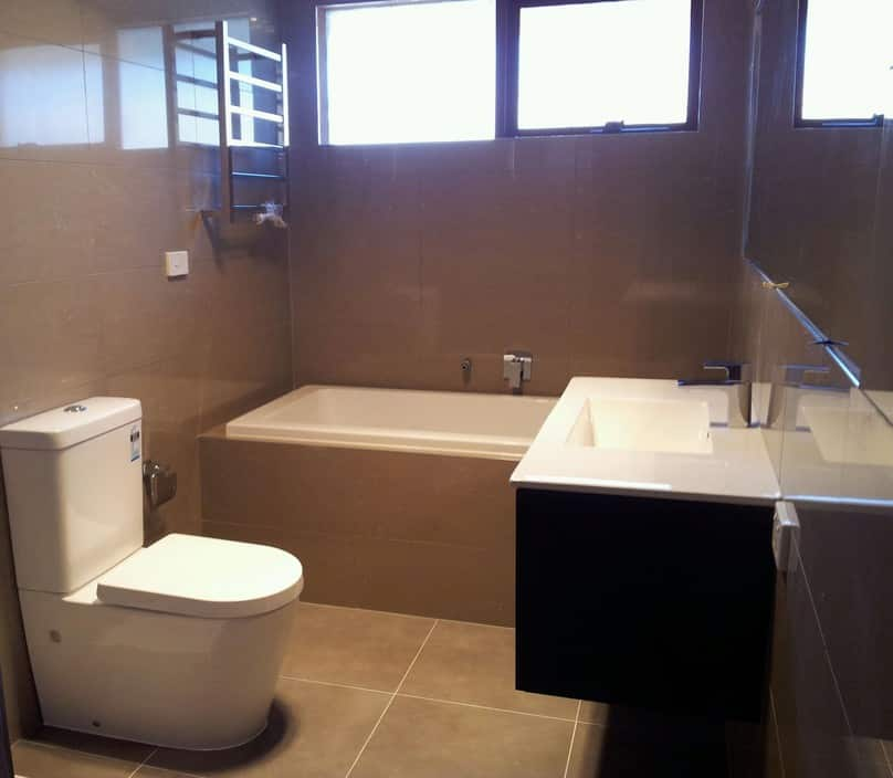 Modern style bathrooms in pakenham melbourne vic for Modern bathroom renovations
