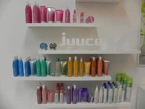 We use Juuce and Pure products