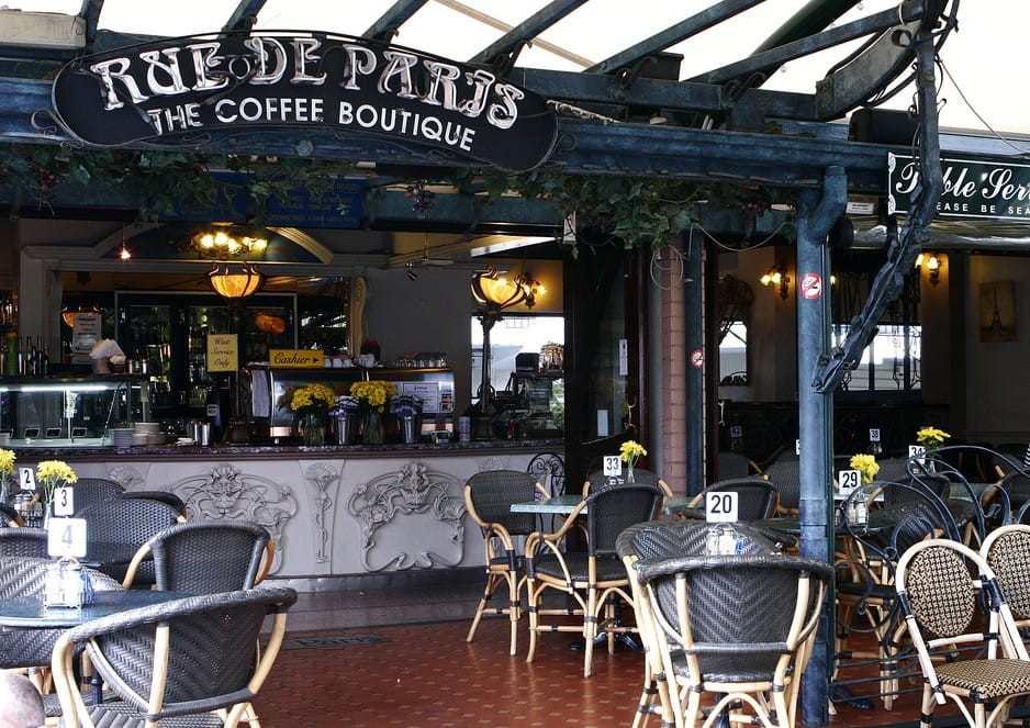 rue de paris the coffee boutique milton brisbane cafes. Black Bedroom Furniture Sets. Home Design Ideas