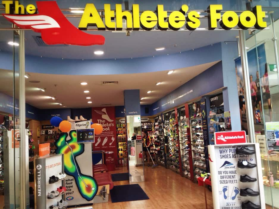 Athletes Foot Shoe Stores Adelaide