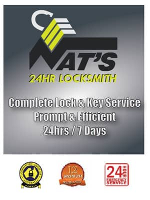 True Local: Nat's 24 hour Locksmith. Image