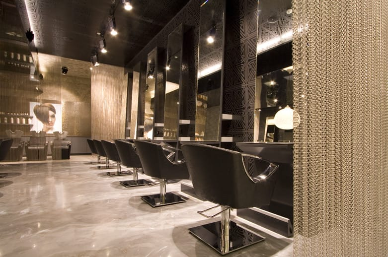 Luxe concept salon in chatswood sydney nsw hairdressers for Interior designs for hair salons