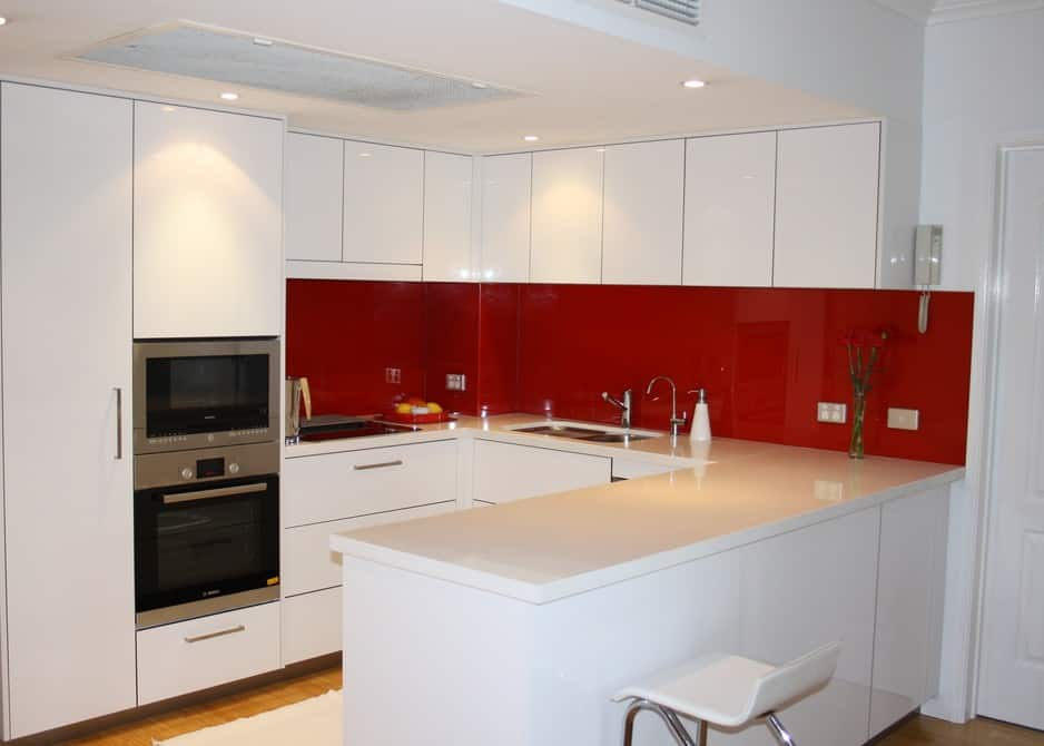U Shaped Kitchen Small Space