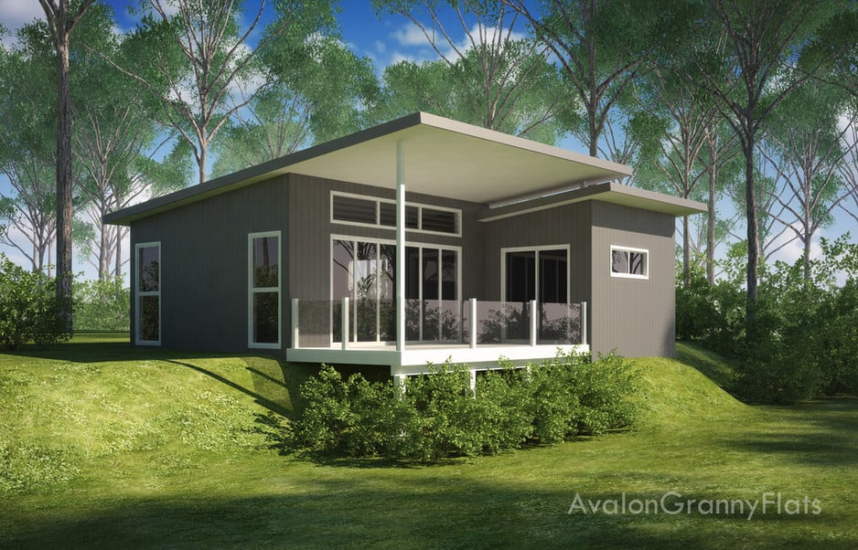 Avalon granny flats in alexandra headland qld building for Home designs granny flat