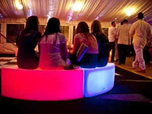 Walker's Party Hire Pic 5 - Glow Furniture