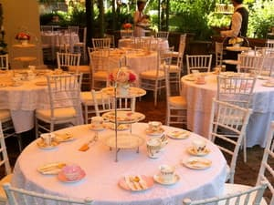 Walker's Party Hire Pic 3 - High Tea