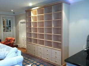 Emerald Building & Carpentry Services Pic 2 - Tassie oak veneer displaystorage unit