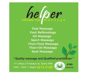 Helper Ultimate Thai Massage Pic 2