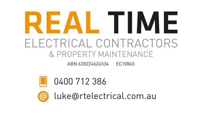 Real Time Electrical Contractors Pic 1 - Real Time Electrical Contractors and Property Maintenance