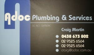 Adoc Plumbing & Services Pic 2