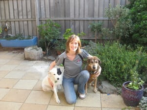 Lonely Pets Club Pic 2 - Jo and two loyal friends
