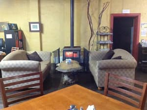 The Mallee Tree Cafe Pic 3 - Warm and cosy in the winter