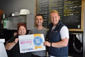 Shannon Pizza Pic 4 - 2 years running for Best Pizza Shop Geelong 2014 2015