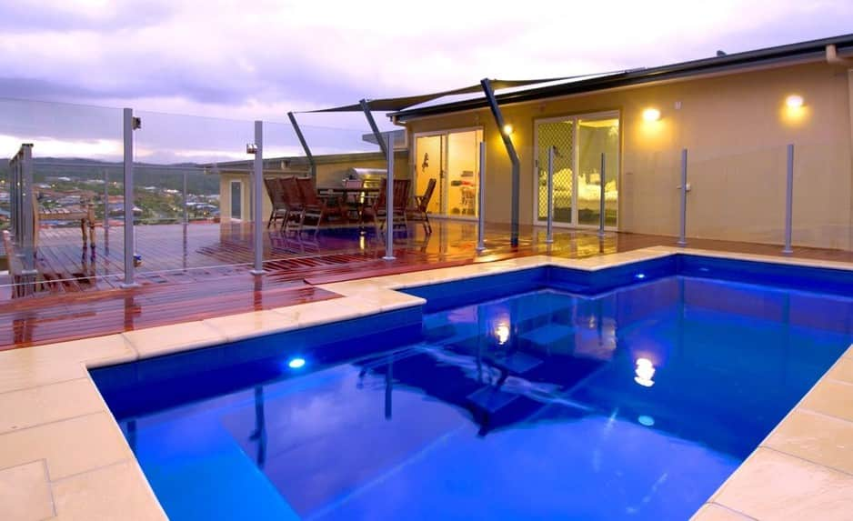 Masterbuilt pools in yatala brisbane qld swimming pools for Pool design brisbane