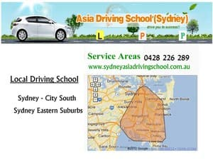 Asia Driving School Sydney Pic 2 - Sydney South Driving School Sydney Eastern Suburbs Driving School