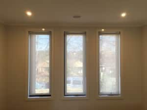 Blockout Blinds Pic 5 - Dual roller blinds help to keep heat out in summer and keep the warmth in during winter