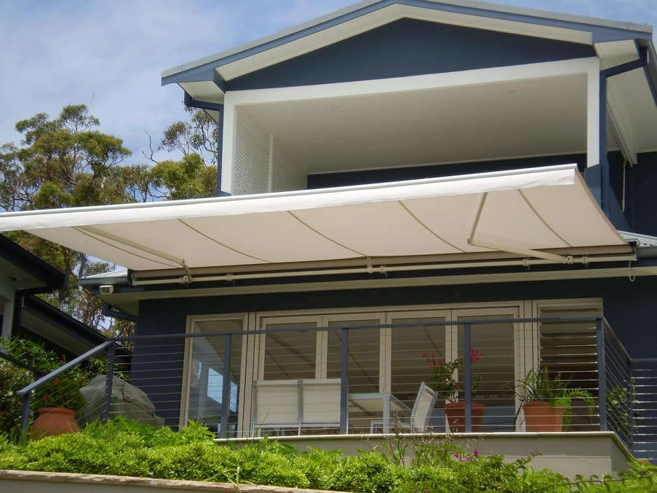 Supershades Pic 1 - folding arm awnings and more
