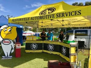 Alstonville Automotive Service Pic 3 - Trade stand at the North Coast Street Machines Show and Shine in Ballina
