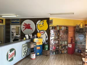 Alstonville Automotive Service Pic 4 - If you need to wait for your car why not enjoy browsing our garage memorabilia in our very comfortable and clean receptionlounge