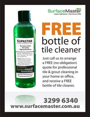 Surface Master Pic 4 - Giveaway with Free Quotes be sure to mention the free bottle and True Local when you call
