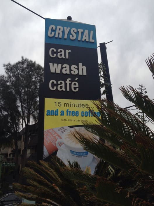 Crystal Car Wash Cafe Pic 1 - Car wash