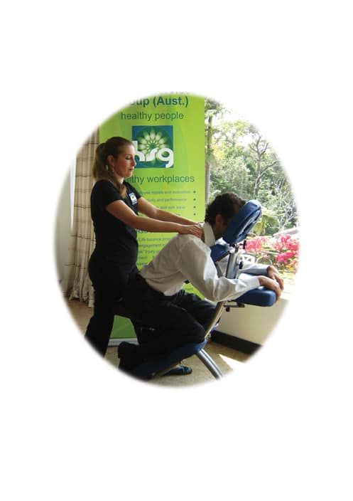 Holistic Services Group Pty Ltd Pic 1 - corporate workplace massage
