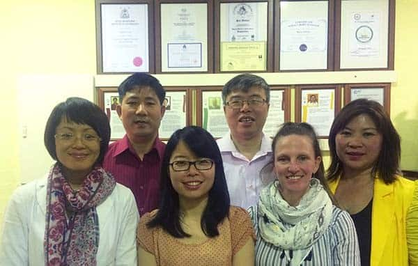 Chinese Treatment Centre Pic 1 - The practitioners at the centre We specialise in acupuncture