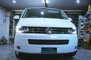 Euro Car Upgrades Pty Ltd Pic 2 - VW Multivan with bixenon LED headlights fitted