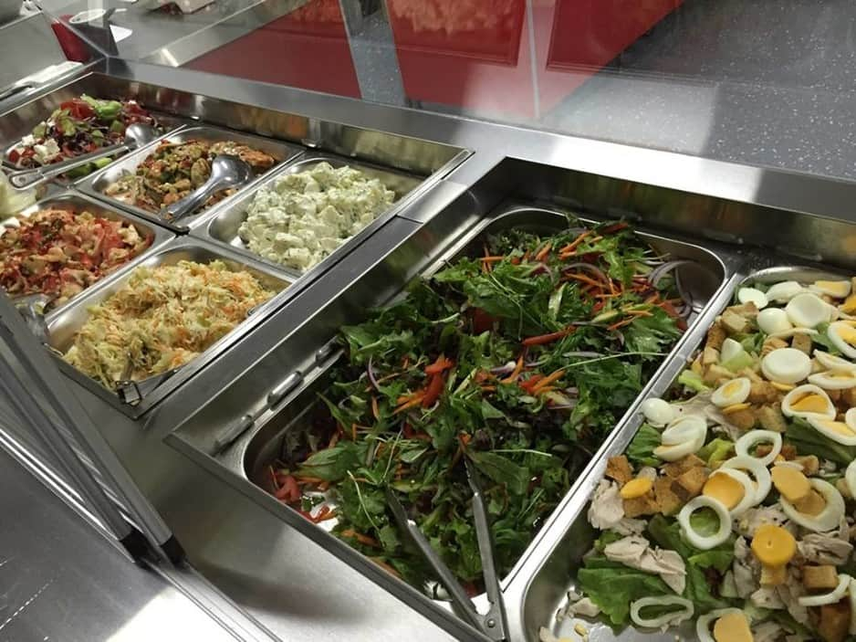 Mudgeeraba Seafoods Pic 1 - Some of our delicious Salads