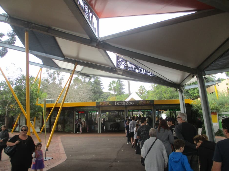 Perth Zoo Pic 1 - Entrance