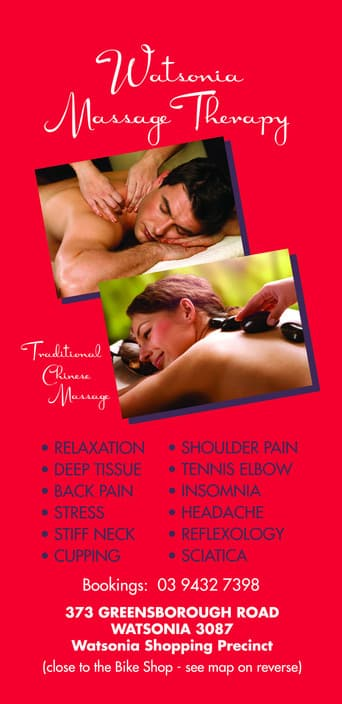 Watsonia Massage Therapy Pic 1 - Services
