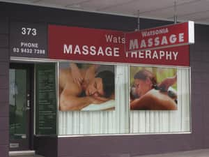 Watsonia Massage Therapy Pic 3 - To represent the quality of the massage you will receive we designed a quality image for our shop facade