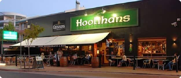 Hoolihans Irish Restaurant & Bar Pic 1 - Hoolihans Irish Pub Hervey Bay