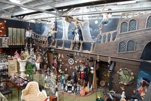 Antique Emporium Pic 2 - The 2 story Pirate ship