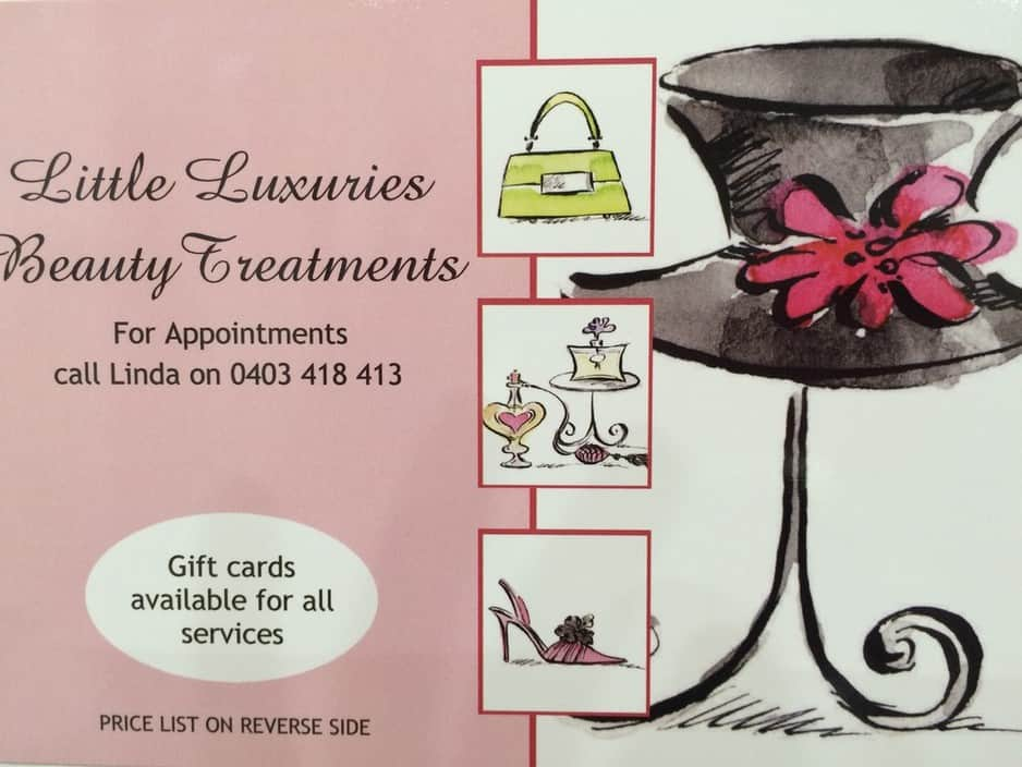 Little Luxuries Beauty Treatments Pic 1 - Book online at your convenience wwwlittleluxuriesbtcomau