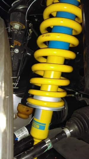 Southern Steering & Suspension Pic 3 - Bilstein Frt Strut Raised King Spring In Ford Ranger