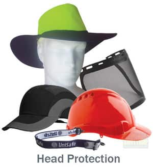 SafetyQuip Pic 5 - Head Protection safety caps visors soft headwear accessories