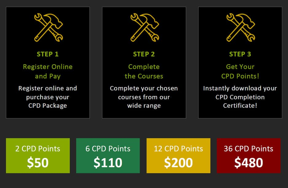 how to get cpd points online