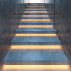 iLIKE Electric P/L Pic 3 - Under Stair Lighting