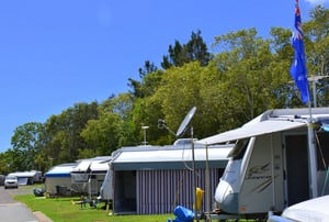 Bli Bli Riverside Caravan Village Pic 3 - Powered sites to the River