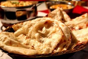 Indian Affair in the City Pic 4 - Naan Bread