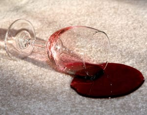 carpet cleaning - sensational cleaning Pic 5 - winetea and coffee spills