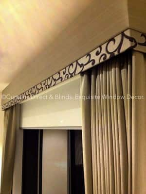 Curtains Direct & Blinds Pic 5 - Elegant Quality Custom Made Curtains Blinds and Decorative Padded Pelmet in Berwick