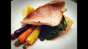 Galleons Restaurant Pic 5 - Pan Seared Local Fish