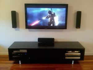 Star Class Home Theatre Pic 2 - TV Wall Mounting