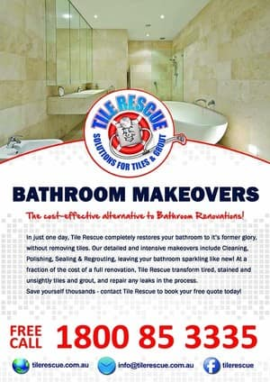 Bathroom Renovations Wollongong tile rescue - wollongong northern illawarra in helensburgh, nsw