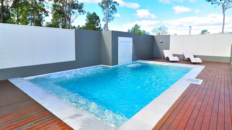 Performance pool spa in meadowbrook brisbane qld home for Pool design brisbane