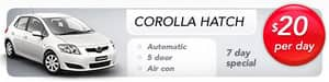 Bayswater Car Rental Pic 2 - corollas car rental