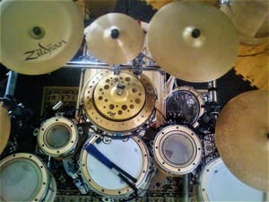 Mark Campbell Drums, Percussion, Music Pic 5 - Fully Symmetrical Kit Builds