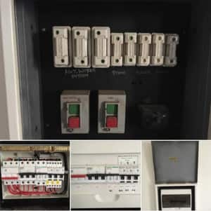 Response Fire & Electrical Services Pic 3 - Before After Switchboard Upgrade